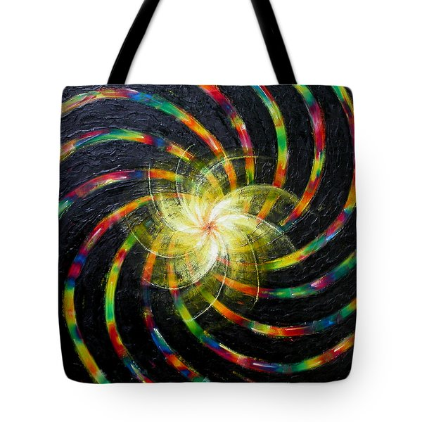 First Day Of Creation Tote Bag