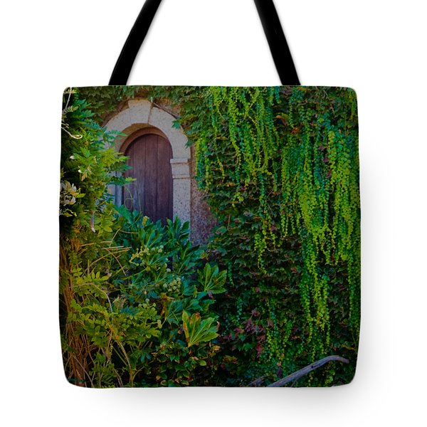 First Door On The Left Tote Bag by Bill Gallagher