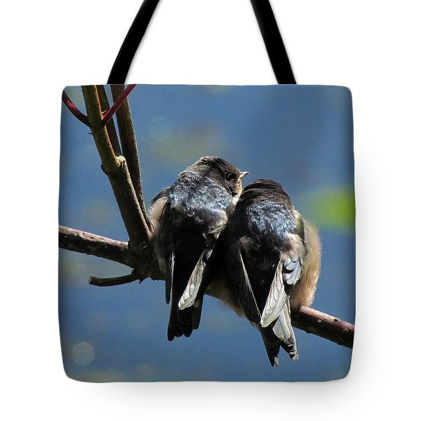 Tote Bag featuring the photograph First Flight by I'ina Van Lawick