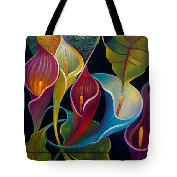 First Flight Triptych - Unframed Tote Bag