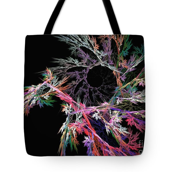 First Flower - Abstract Art Tote Bag