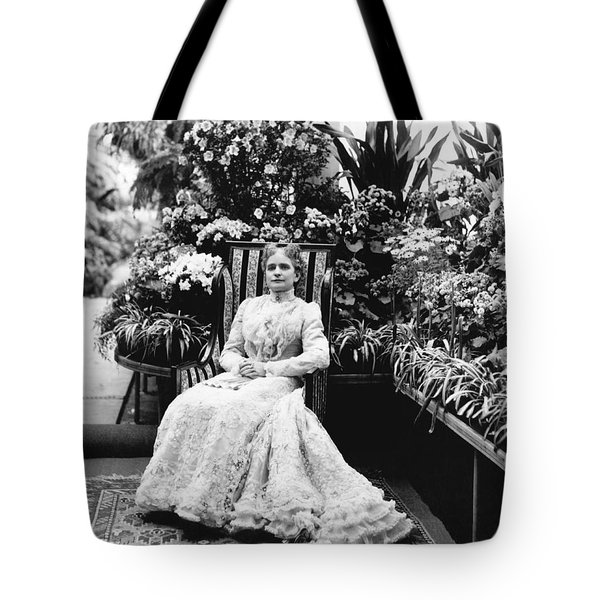 First Lady Ida Mckinley Tote Bag by Underwood Archives