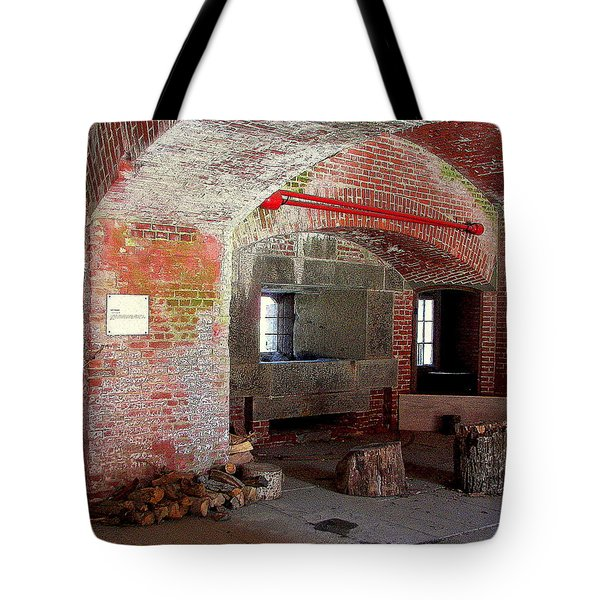 First Level Casemates Tote Bag