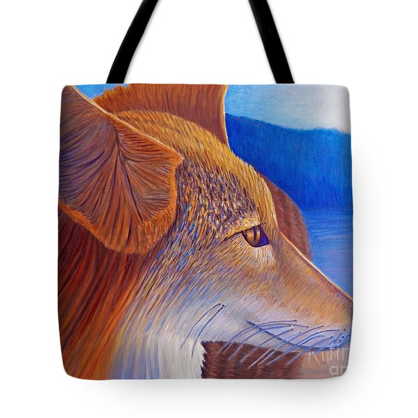 First Light Tote Bag by Brian  Commerford