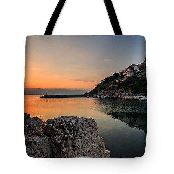 First Light Tote Bag by Davorin Mance