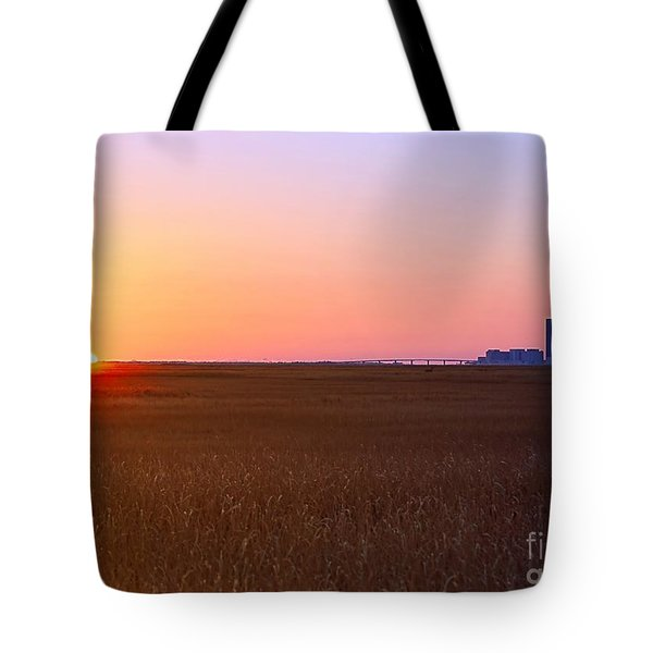 First Light Of 2015 Tote Bag