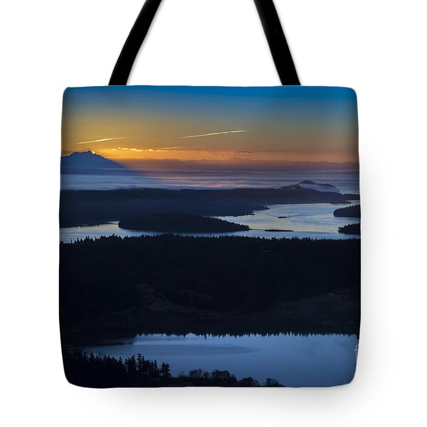 First Light Tote Bag by Sonya Lang