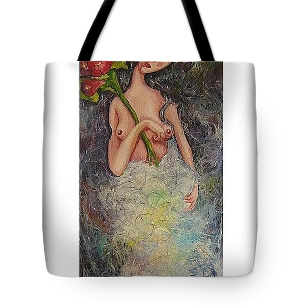 first love I Tote Bag by Mikyong Rodgers