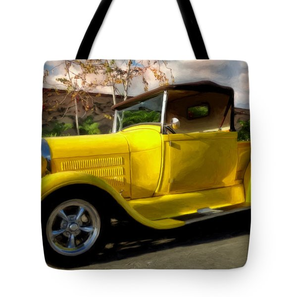 Tote Bag featuring the painting First Love by Michael Pickett