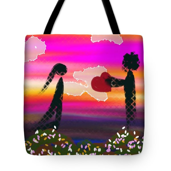 First Love Tote Bag by Lady Ex