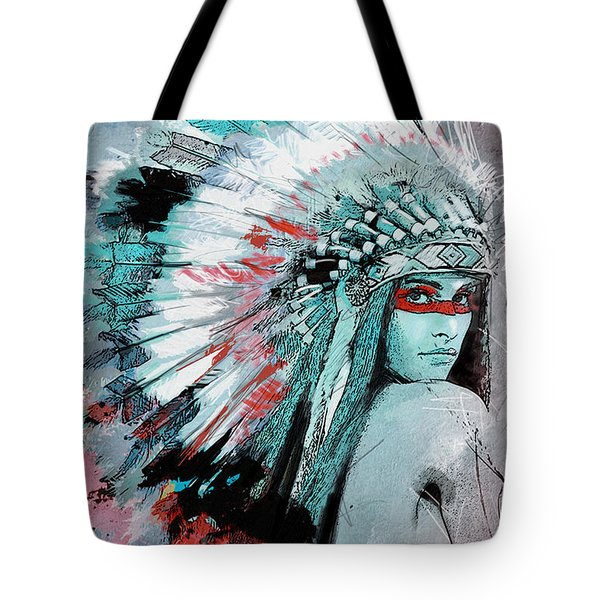 First Nations 005 C Tote Bag