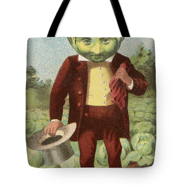 First Premium Cabbage Head Tote Bag by Aged Pixel