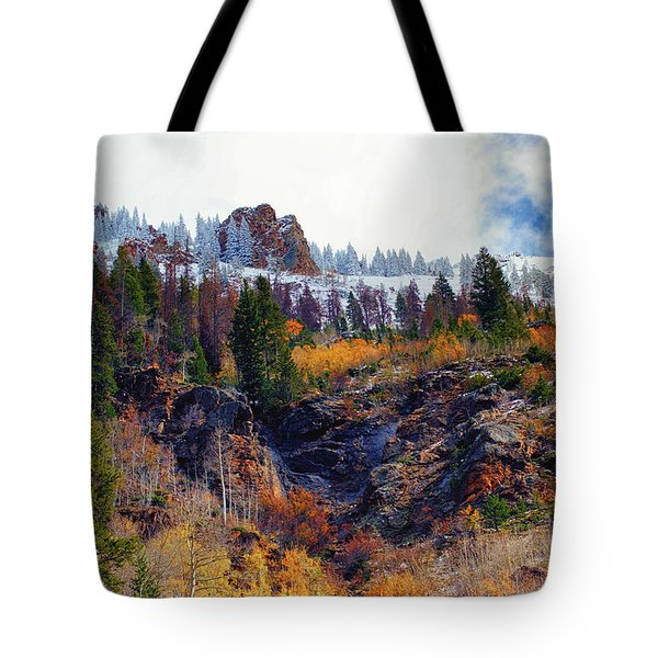 First Snow Tote Bag by Brian Kerls