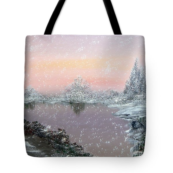 First Snowfall Tote Bag by Alys Caviness-Gober