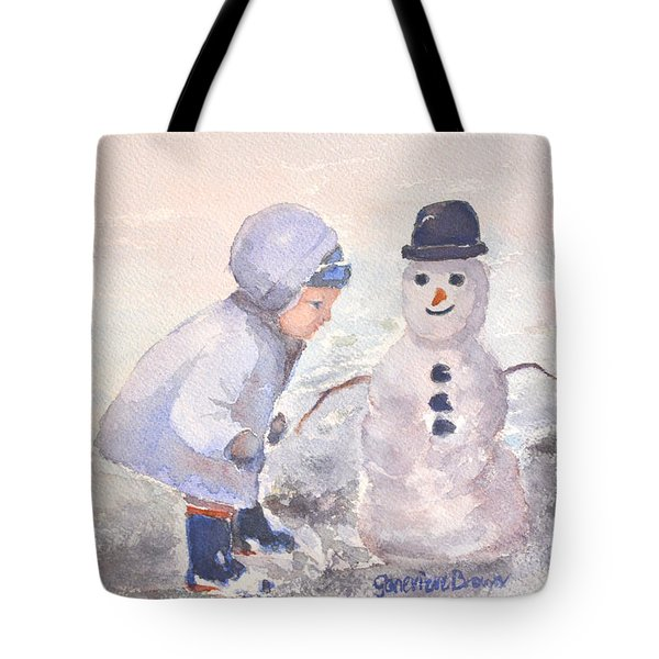 First Snowman Tote Bag