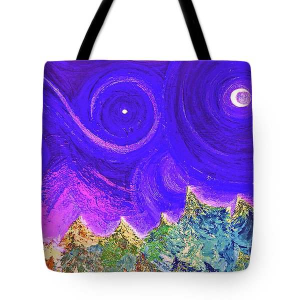 First Star Sunrise Tote Bag by First Star Art