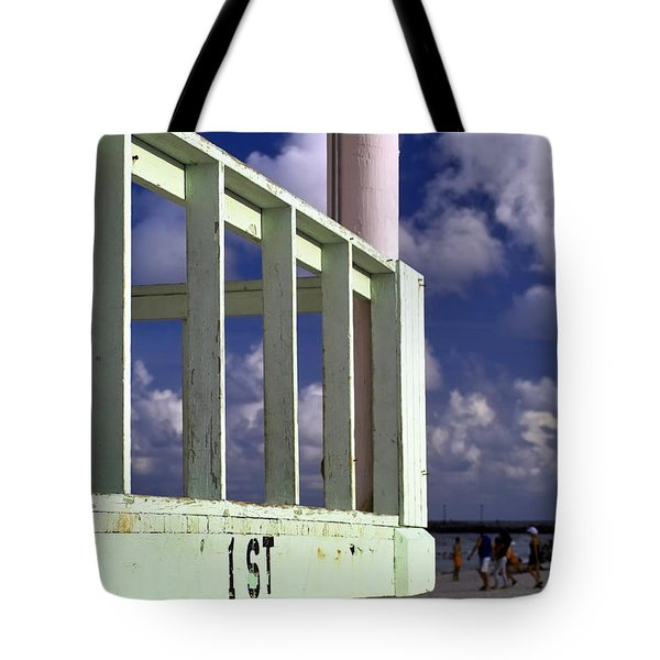 First Street Porch Tote Bag