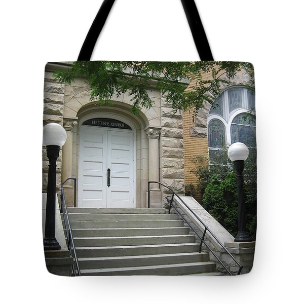 First United Methodist Church Williamstown Wv Tote Bag