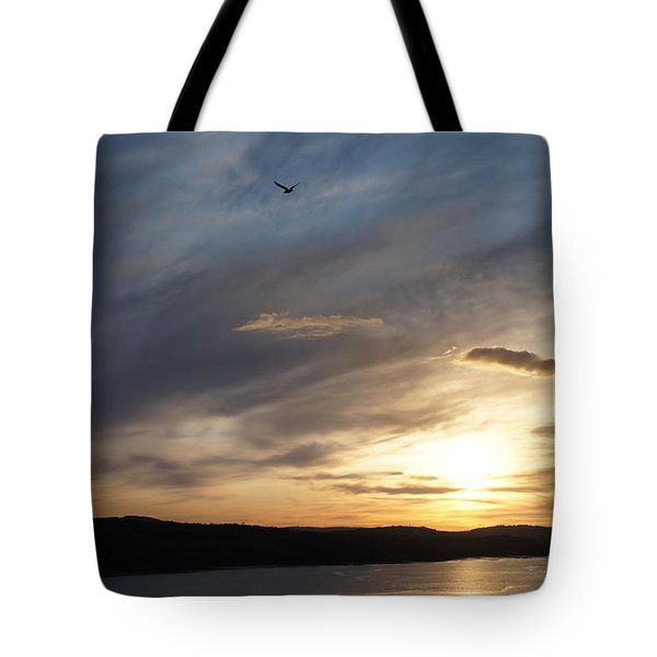 Firth Of Forth In The Sunset Tote Bag
