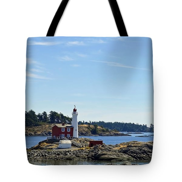 Fisgard Lighthouse Tote Bag