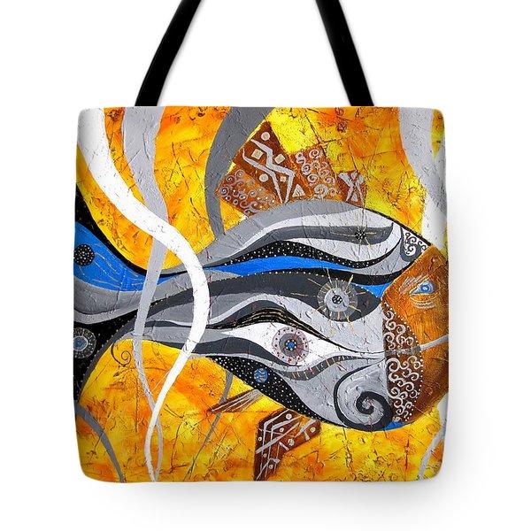 Fish 0465 - Marucii Tote Bag by Marek Lutek