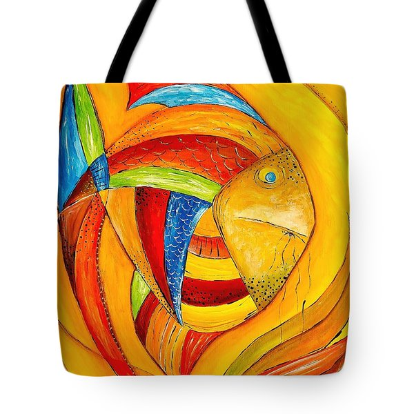 Fish 428-08-13 Marucii Tote Bag