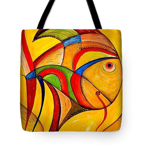 Fish 534-11-13 Marucii Tote Bag