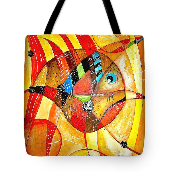 Fish 716-14 Marucii Tote Bag