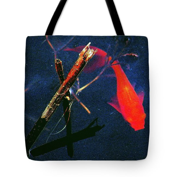 Tote Bag featuring the photograph Fish Bubble by Faith Williams