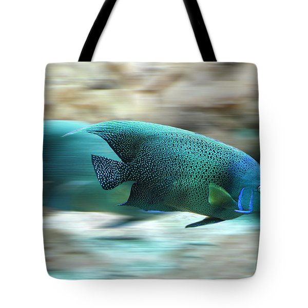 Fish Tote Bag by Christine Sponchia