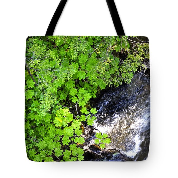 Fish Creek In Summer Tote Bag