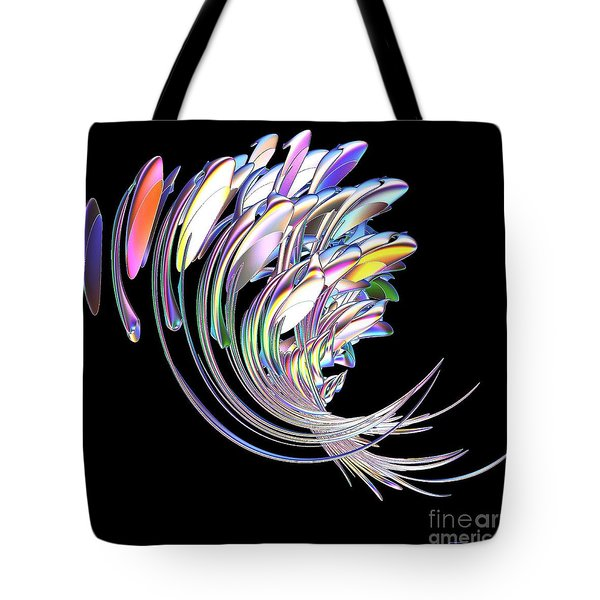 Tote Bag featuring the digital art Fish Fandango by Greg Moores