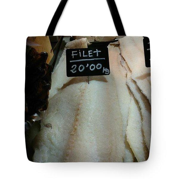 Fish Filets Tote Bag