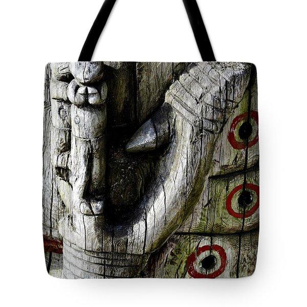 Fish Hook Tote Bag