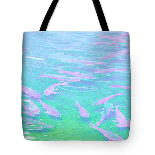Fish Tote Bag by Rachel Mirror