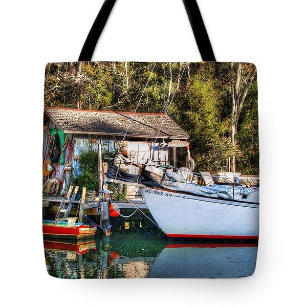 Fish Shack And Invictus Original Tote Bag