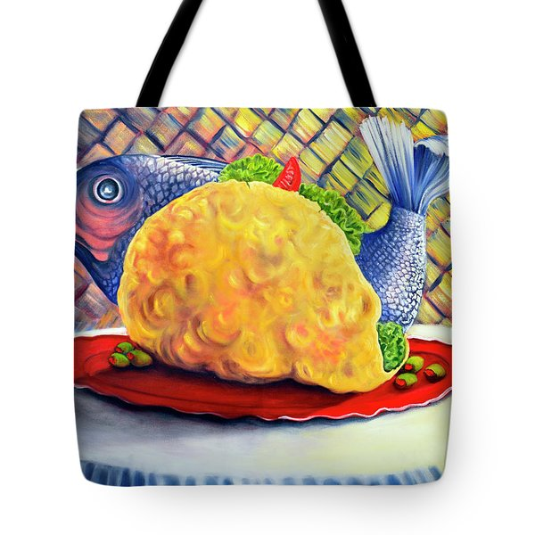 Fish Taco Tote Bag