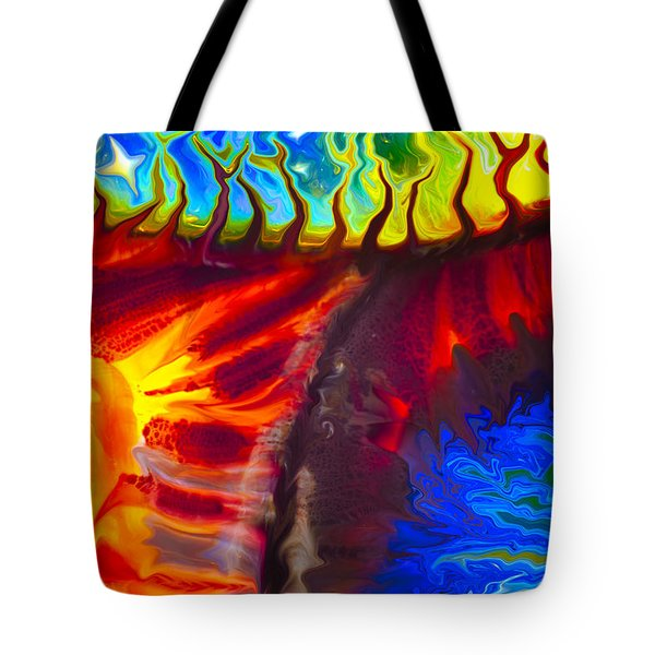Fish Tales Tote Bag by Omaste Witkowski