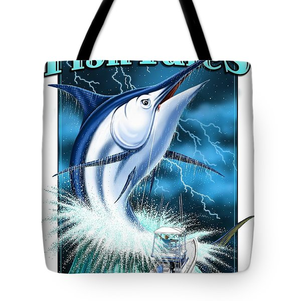 Fish Tales Tote Bag