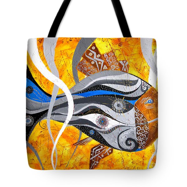 Fish Xi - Marucii Tote Bag