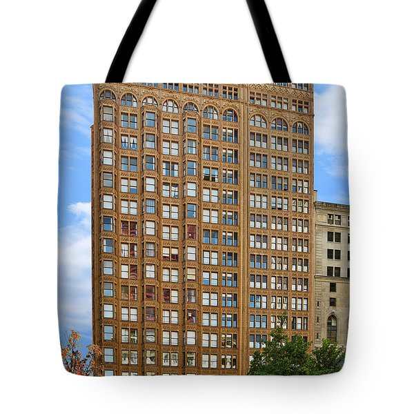 Fisher Building - A Neo-gothic Chicago Landmark Tote Bag by Christine Till