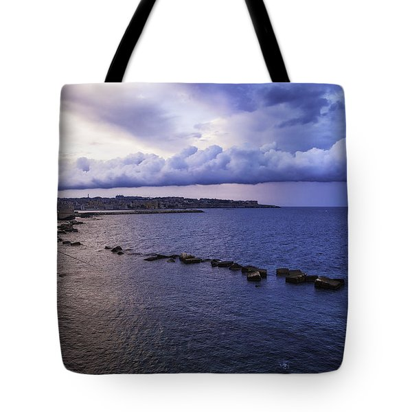 Fisherman - Sicily Tote Bag by Madeline Ellis