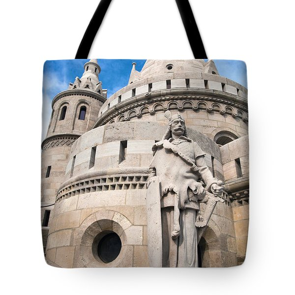 Fisherman's Bastion In Budapest Tote Bag by Michal Bednarek