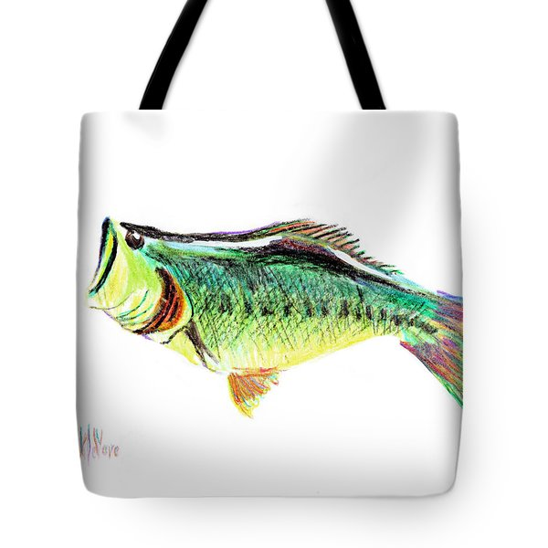 Fishermans Delight Tote Bag by Kip DeVore