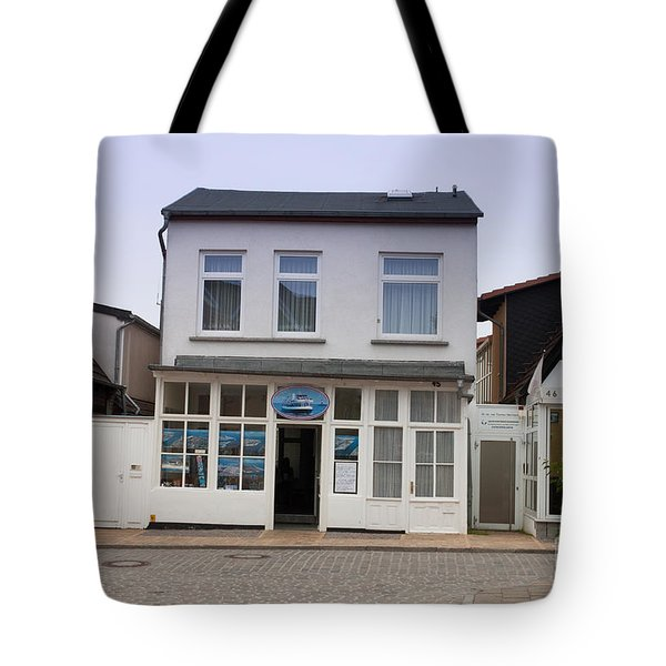 Fishermans House Wernamunde Germany Tote Bag by Thomas Marchessault
