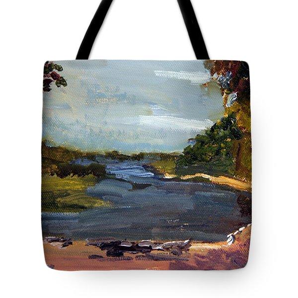 Fisherman's Landing Tote Bag