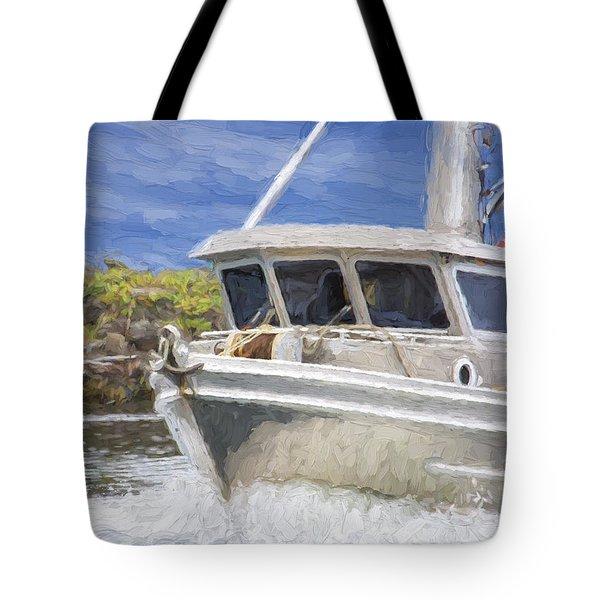 Fisherman's Prayer - West Coast Art Tote Bag