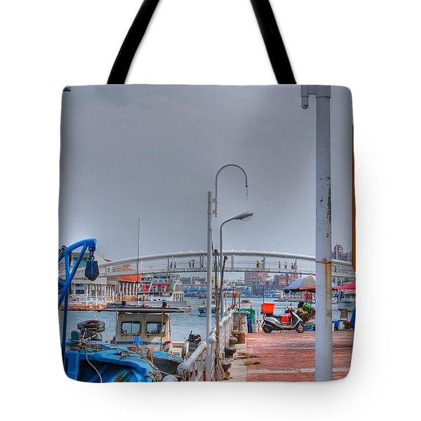 Fisherman's Wharf Taiwan Tote Bag