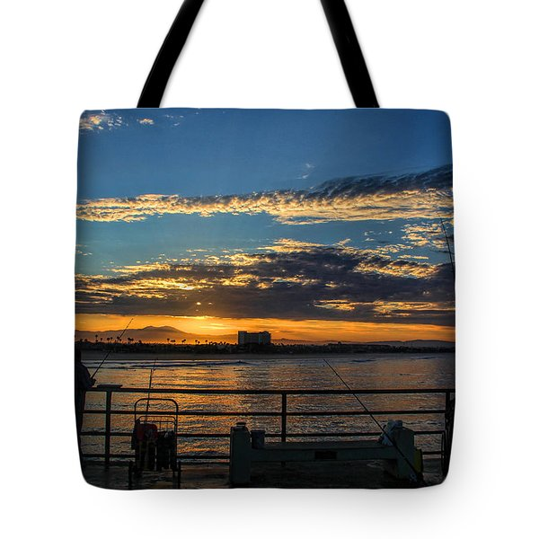 Fishermen Morning Tote Bag