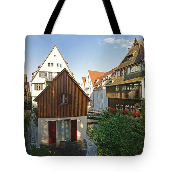 fishermens quarter in Ulm Tote Bag
